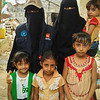 Newly displaced families from Hodeidah currently in Hajjah. Photo: NRC/Husain Jabhan