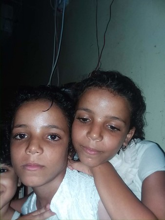 Majed's twin daughters one of them was killed in November 2018.