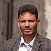 Majed Al Wahidi at his destroyed house in Hodeidah City, where four of his daughters were killed and another two injured in November 2018.<br /> <br /> Photo: Karl Schembri/NRC<br /> Photo taken on 6 February 2019