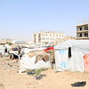 Souk Al-Lail camp in Amran city