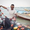 The fishermen who fled from Al-Hodeidah.