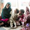 Roxshana, mother of four in Kabul IDP camp