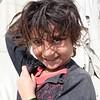 Young girl in an IDP Camp in Kabul