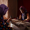 Mohammad's 7 and 9 year old sisters work all day peeling Pistachios. They get paid less than 50 dollar cents per 4 kilos