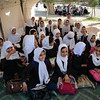 "Fath girls school, Herat, Afghanistan. Photo: NRC/Tiril Skarstein<br /> <br /> The school has 7000 students. Every day one or two new ones are enrolled. <br /> <br /> Quotes from Mahboba Sidiqi, the director of Fath Girls High School, Herat: ""Some are from Herat, but many are also coming from other provinces like Faryab, Badghis and Ghor. The parents are happy with this school, but we are stuggeling to give a sufficiently good offer to all the students. We are running three shifts and 16 classes are being reached outside in tents. I wish we could at least have concrete floor where we have put up the tents. It gets very muddy when it is raining. Despite this, many families are willing to send their girls to school and that is very positive. Security concerns along the road to school is the main reason some parents are not seining their girls to school"".<br /> <br /> With support from NMFA, NRC has helped build an additional school building with class rooms, enabling more children have a place to study."