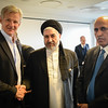 Minister for Refugees and Repatriation Mr Sayed Hussain Alemi Balkhi meets with Secretary General of the Norwegian Refugee Council Jan Egeland in Oslo, Norway 26 August 2016. Photo: Tiril Skarstein, NRC