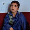 Khairullah (10) is originally from Chardara District. The family fled to Kunduz to escape conflict 3 months ago. Khairullah's father was not able to buy notebooks and stationery for their children. <br /> <br /> Soon after the opening of NRC's ALP class in Rostaq Abad, Khairullah joined the class. The school is organized to remain free for most vulnerable IDP and returnee children and also help students with stationery and winterizations clothes.<br /> <br /> Khairullah is happy that attends class and have learnt how to read and write some basic numbers.  Photo: NRC/Enayatullah Azad