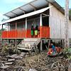 La Peña's Temporary Classroom