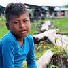 La Peña's indigenous boy