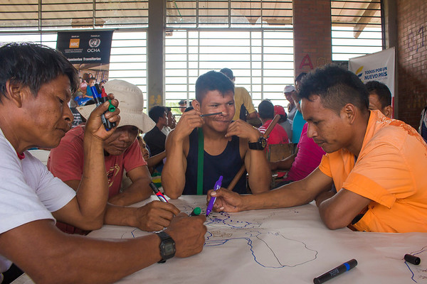 Jiw indigenous returning - Shelter