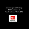 Chldren celebrate NRC's assistance in Mokoto primary school/Masisi