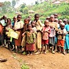 Displaced children at Luhusha primary school /Masisi