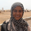 """Samirata is 12, from Aden. When i ask her if she remembers anything from home, she says """"I dont want to think about it""""."""
