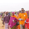 Refugees cleaning Hilewoyn camp in Dollo Ado, Somali region, Ethiopia. Photo Credit: NRC Ethiopia