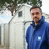 Protection expert Patric Mansour is seconded from NRC´s emergency roster NORCAP to support UNHCR at Lesvos. He is coordinating the response at Moria hotspot (registration centre). Photo: Tiril Skarstein, NRC