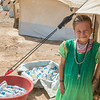 Ralia (7) has feld Sinjar together with her family and they are now living in Kandala camp in Northern Iraq. Photo: Tiril Skarstein, Norwegian Refugee Council