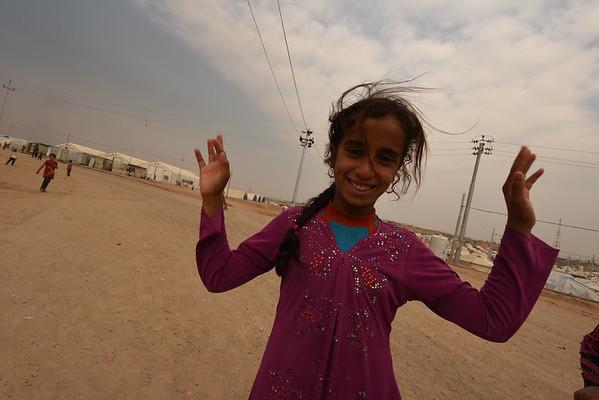 Iraq Artistgalla field trip to Debaga camp October 2016