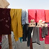 Clothes drying in Kawrgosk camp for Syrian refugees in Erbil, North Iraq. Photo: Hanne Eide Andersen/Flyktninghjelpen