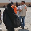 Hundreds of families are displaced every week from Makhmour in Iraq and surrounding villages due to the ongoing military offensive to retake Mosul. NRC's emergency teams are present in displacement camps in Debaga handing out safe drinking water, food, hygiene kits, buckets and baby kits to the newly displaced families every day.<br /> <br /> <br /> Photo: NRC/Becky Bakr Abdulla