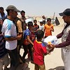 NRC is present in Amiriyat Al Fallujah delivering emergency aid such as safe drinking water and food parcels and baby kits to newly displaced families from Fallujah.<br /> Photo: NRC