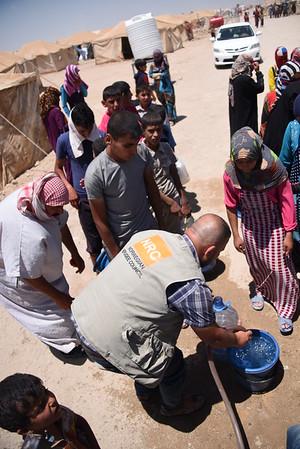 Fallujah displacement camps, NRC aid