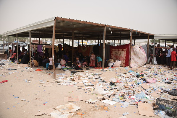 Fallujah displacement crisis 18 June, 2016
