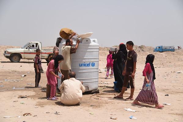 Fallujah displacement crisis 20 June, 2016