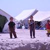 Children playing next to an open latrine pit. Photo: Karl Schembri/NRC