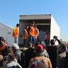 Khazar camp, Hasansham, November 4, 2016<br /> <br /> NRC distributed food and water to 9018 new arrivals on this day alone. <br /> <br /> Photo: Alvhild Stromme/NRC