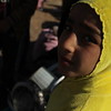"""Khazer camp, Hasansham, November 4, 2016: <br /> <br /> Fatima (8)<br /> <br /> """"I am fine, thanks to God. They were fighting and it was noisy. I was afraid. I didn't sleep.""""  <br /> <br /> """"I never went to school. I want to go to school and I want to become a nurse so I can help people."""" <br /> <br /> Photo: Alvhild Stromme/NRC"""