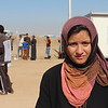 """Khazar camp, Hasansham, November 4, 2016<br /> <br /> Hadija, from Gogjali <br /> <br /> """"The last two years were like a prison. They destroyed us, ISIS destroyed us.""""<br /> <br /> """"For two years I did not see my sister, just now I greeted her though the fence. The only think we can do is to thank God that nothing worse happened to us.""""<br /> <br /> Photo: Alvhild Stromme/NRC"""