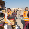 On December 6, 2016, the Norwegian Refugee Council (NRC) distributed heaters, blankets, solar lights and hygiene kits to 150 families in Hamam Ali which was recently retaken from ISIS.<br /> <br /> Photo: NRC/Sarhang Sherwany