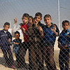 Internally displaced children in Debaga camp who recently fled with their families from Mosul and surrounding areas. <br /> Date: 6 November 2016<br /> Photo: NRC/Sarhang Sherwany