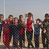 Internally displaced children in Debaga camp who recently fled with their families from Mosul and surrounding areas.<br /> <br /> Date : 6 November 2016<br /> Photo: NRC/ Sarhang Sherwany