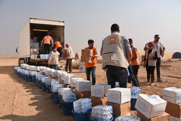 For Media - People fleeing Mosul and surrounding areas