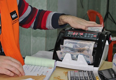 NRC cash didtribution in Iraq