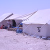 Most of the tents in Amariyat Al Fallujah host two or more families because of the shortage of tents available<br /> Photo: Karl Schembri/NRC