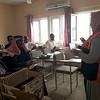 NRC staff provided an introduction on NRC's WASH programme.<br /> Location: Furqan village, Kirkuk  <br /> Date : 11 April 2016<br /> photo: Hero  Rashid