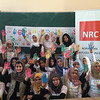 NRC staff among IDP students who participated in various activities on the Global Hand washing Day. <br /> Location: Sake Alharmeen school, Anbar <br />  Date: 15 October 2016<br />  Photo :Safa Ghazi