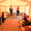 NRC staff explained the roles and responsibilities of the Wash Management Committee.<br /> Location: Omar Bin Khattab Village, Kirkuk <br /> Date: 11 April 2016<br /> Photo: Zainab Salar