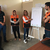 NRC staff conducting a training for community members about the Wash Management Committee's (WMC) roles and responsibilities. <br /> Location: Bawa village, Kirkuk<br /> Date:12 April 2016