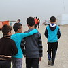 """Kovan, Hani and Silivan<br /> <br /> Hani Shakher Khalaf (9) (in blue)<br /> <br /> As children in the camp wore their new shoes from TOMS for the first day, Hani was the only kid who's shoes were already dirty and looked well used the first day. <br /> <br /> """"I love to play football, and I love Real Madrid!""""  He wants to become a professional football player. <br /> <br /> Hani has ben living in the cam since 2014. Similar to many others in the camp, he fled home in the summer of 2014 and spent a week in the Sinjar mountains without water and food, before they walked for 20 hours to Syria and were taken to this camp. <br /> <br /> The NRC School Support Center coordinator, Sami, tells us that Hani is a child with plenty of energy who would rather run around and play than sit still and read books. he was a school drop-out who was guided back to school by one of the staff connected to the NRC School Support Center. """"He has been a little rouble maker, this one,"""" Sami says, """"but he is a great and kind child. As long as he can get some of his energy out on playing, he is doing very fine in other subjects too.His football skills are remarkable, and I do hope that he will one day be able to play professionally as he dreams of. He comes to the center almost every day asking to borrow one of our balls.""""<br /> <br /> Bajed Kandala camp is located in the Kurdistan region in Northern Iraq, close to the border of both Turkey and Syria. It was initially set up to accommodate Syrian Refugees, but since June 2014 Yazidis fleeing violence in and around Sinjar have been living in the camp. The camp accommodates around 13,000 people, and the NRC education programme is serving up to 5000 children.  <br /> <br /> From the beginning, NRC established a School Support Centre to fill gaps in the formal education provided. Activities include supporting the children though the curriculum, other activities as sports, and they engage people to identify and visit children who have dropped out """