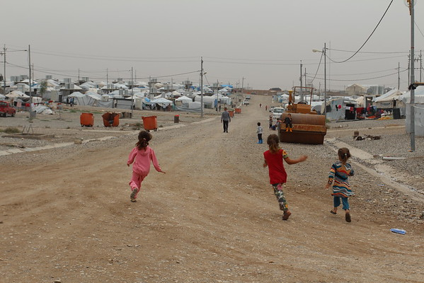 Bajed Kandala camp is located in the Kurdistan region in Northern Iraq, close to the border of both Turkey and Syria. It was initially set up to accommodate Syrian Refugees, but since June 2014 Yazidis fleeing violence in and around Sinjar have been living in the camp. The camp accommodates around 13,000 people, and the NRC education programme is serving up to 5000 children.  <br /> From the beginning, NRC established a School Support Centre to fill gaps in the formal education provided. Activities include supporting the children though the curriculum, other activities as sports, and they engage people to identify and visit children who have dropped out from school to encourage them to come back. <br /> The centre is becoming increasingly important as the formal education provided is suffering from lack of teachers. However, the school support programme is now scaling down and might close due to lack of funding. Closing the center would mean that the 5000 displaced children in the camp who need educational support more than ever, will have no access to education. It would also mean that the children's prospects for a brighter future outside a camp, a future where they can get jobs and provide for a family, becomes less likely. <br /> The population in the camp are all Yazidis that fled Sinjar in the summer months of 2014. <br /> Photos: Alvhild Stromme/NRC