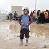 "Mohemed Sabah (6) originally from Mosul, has been displaced to Hamam al-Alil two weeks ago. ""I want education, safety, and joy for my children,"" Mohemed's mother says while waiting in the queue to get aid ""I am thrilled that Mohemed is registered in school, he will go back to school again, I really hope he will finish school, and I want him to be a journalist to help people in the future,"" she says. <br /> <br /> Date: 16 March 2017<br /> Text: Sarhang Sherwany<br /> Photo: Alan Jalal"