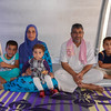 Ahmed with his family in their tent in  Khazer camp. <br /> <br /> Date: 15 June 2017<br /> Photo: Sarhang Sherwany/NRC