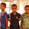 Ahmed with his friends at NRE's School Support Centre in Khazer camp.<br /> <br /> Date: 15 June 2017<br /> Photo: Sarhang Sherwany/NRC