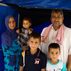 Ahmed and his family in Khazer camp.<br /> <br /> Date: 15 June 2017<br /> Photo:Sarhang Sherwany/NRC