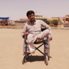 "Nash had Fhakheradeen (38), originally from Tal Afar, has been displaced to west Mosul and then to east Mosul. <br /> ""As you can see, I am in a wheelchair and I don't know when I last received my government disability payment. Life for me is hard. I have five children. I don't have any a place to stay, I am staying with relatives and friends. I am glad there are people in this situation who are willing to help people who are in need, I have been helped by many people who I do know them or strangers on streets,"" Nash had says and continues with tears in his eyes ""I hope my children grow up in a safe environment and get education to have a professional career in the future and have what they need in their lives,"" Nash had adds.<br /> <br /> Date: 24 May 2017<br /> Photo: Alan Jalal/NRC<br /> Text: Sarhang Sherwany/NRC"