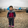 Newly displaced Raed (3) in Hasan Sham camp for IDPs from Mosul and surrounding areas. NRC is present providing emergency aid such as food parcels, water and hygiene kits in addition to school support and safe spaces for children. <br /> <br /> Photo: NRC/Hussein Amri