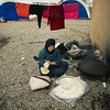 Newly displaced woman from Mosul and surrounding areas in Khazir camp 1 where NRC is present providing emergency aid such as food parcels, water and hygiene kits in addition to school support and safe spaces for children. <br /> <br /> Photo: NRC/Hussein Amri